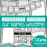 Class Welcome Banner with Names - Printable Banner Pack