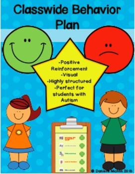 Class Wide Behavior Management Plan- Autism/ABA