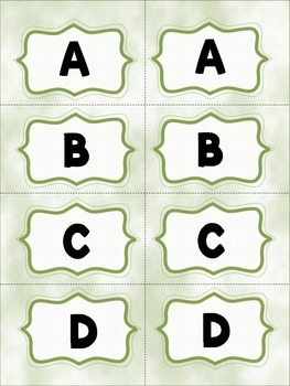 Class Wide Interactive Multiple Choice Clips