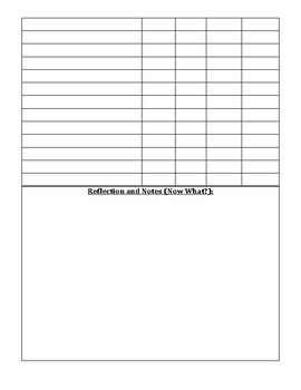 Class Wide Intervention Form
