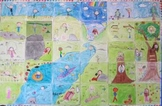 Class Wide Mural Project for Classes from 20 to 30 students