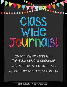 Class-Wide Writing Journals for 1 Year!