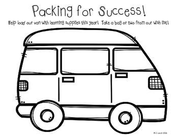 Class Wish List - Transportation Themed