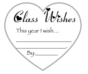 Free Class Wishes - No Rules - Heart