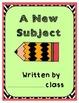 Class Writing Journals/Writing Literacy Station: Yearly Bundle