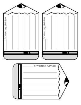 Class Writing Advice & Bulletin Board Display