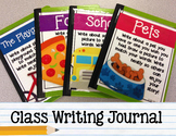 Class Writing Journal