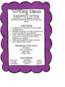 Class Writing Journal Prompts