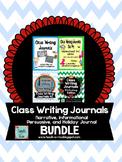 Class Writing Journal Bundle