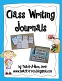 Class Writing Journals