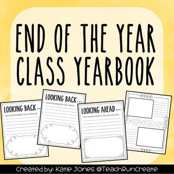 Class Yearbook Freebie
