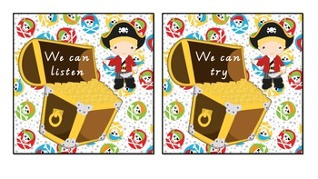 Class and Student Goals - Pirate Theme