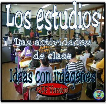 Class and Study Activity Images .PDF version - Imágenes de clase y los estudios