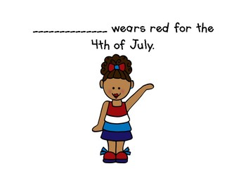 Class book: 4th of July