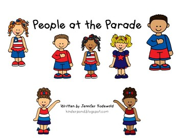 Class book: People at the Parade