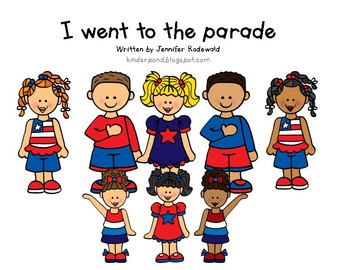 Class book: I Went to the Parade