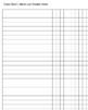 Class chart/tracker