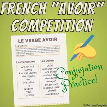 Class competition with verb AVOIR