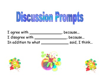 Class discussion prompts