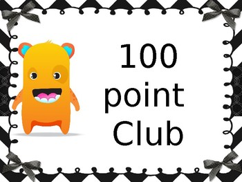 Class dojo point club
