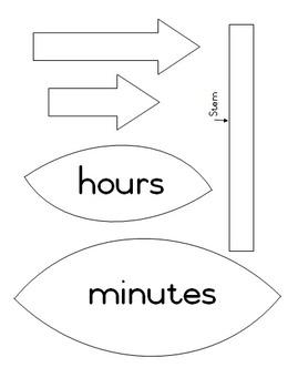 Class flower clock