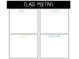 Class meeting