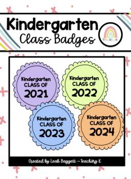 Class of 2015 Kindergarten Badge End of the Year Activity