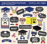 Class of 2017 Graduation Party Photo Booth Prop, Graduation Printables