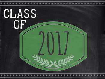 Class of 2017-2032 : Graduation Date Signs