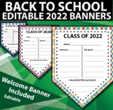 Back to School Banner Class of 2018 - Goals & Interests wi