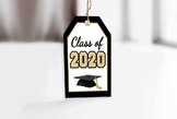 Class of 2020 Graduation Printable Gift Tags and Bag Toppers
