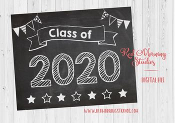 Class of 2020 sign - PRINTABLE