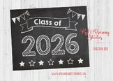 Class of 2026 sign - PRINTABLE