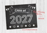 Class of 2027 sign - PRINTABLE