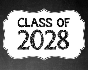 """Class of """"2021 - 2038"""" Signs"""