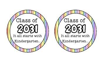 Class of- It all begins with Kindergarten