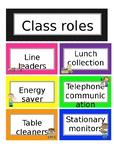 Class roles