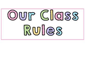 Class rule posters summer lovin' theme #austeacherbfr