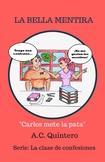 Class set 30 novels- La bella mentira  Spanish 1 Novel Free TM & Shipping