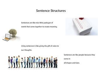 Class starter: Sentence Structure