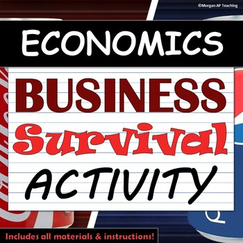 Class-wide Business Scenario & Survival Game! - Economics