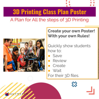 How to 3D Print in your classroom