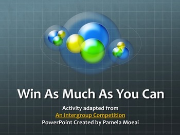 "ClassBuilding Interactive PowerPoint ""Win As Much As You Can"""