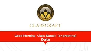ClassCraft Power Point