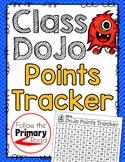 ClassDoJo Points Tracker