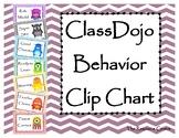 ClassDojo Behavior Clip Chart