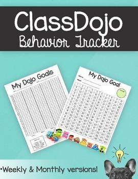 ClassDojo Behavior Tracker