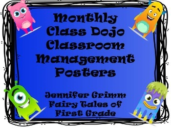 ClassDojo Monthly Reward Clip Chart