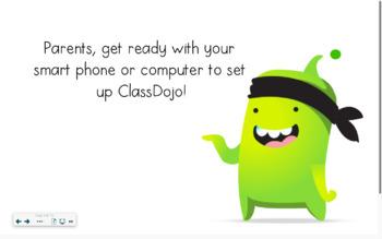ClassDojo Parent Sign-Up Presentation