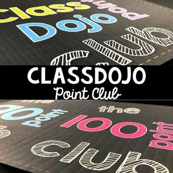 ClassDojo Point Club Clip Chart
